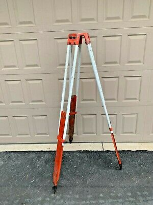 Realist David White Instruments Surveyors Transit Level Tripod Vintage