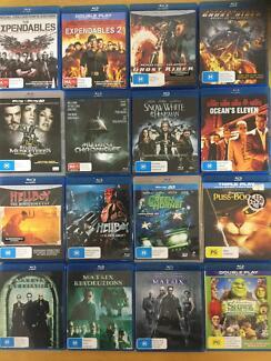 DVDs blurays assorted bulk