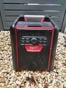 Milwaukee Site Radio. Bluetooth and battery charger all in one.