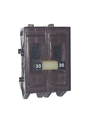 Wadsworth A230 30a 40 Amp 2p 240v 240volt Circuit Breaker Metal Clips. A230ni