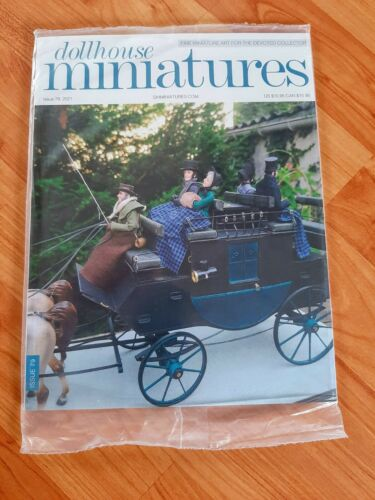 Dollhouse Miniatures Magazine Issue 79 2021 **Brand New - Free Shipping**