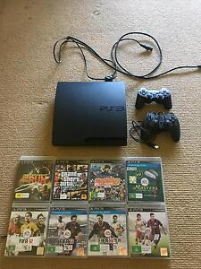 PS3 with controllers and games Watanobbi Wyong Area Preview