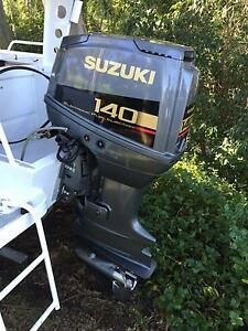 Outboard Motor Suzuki DT140 fuel injected, oil injected 1997 Coal Point Lake Macquarie Area Preview