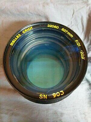 Melles Griot 627mm Scan Lens Pn 32060 F21 - 20.9 Sn 903