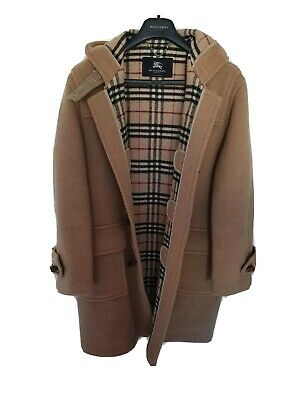 Mens chic LONDON by BURBERRY duffle coat/jacket Size 48/XL. Ex con. RRP £995.