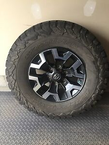 Tacoma rims and tires