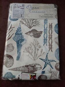 Seashell Tablecloth Ebay