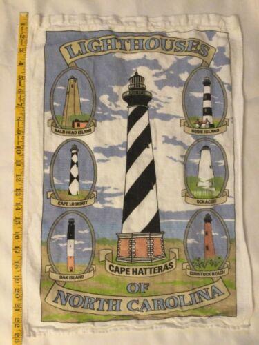 North Carolina Cotton LIGHTHOUSES TEA TOWEL Kitchen Poster