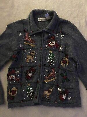 Women's Ugly Christmas Sweater-Holiday Christmas Sweater-Peti for sale  Ashland