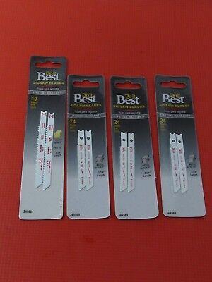 DoIt Best Jigsaw Blades Four Sets Two Blades Per Set