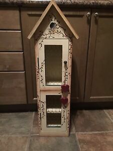 Tole painted bird house self