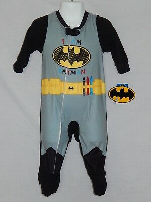 Neu Batman Film Kostüm Comics Justice League Baby Reißverschluss 9 12 24 Monate