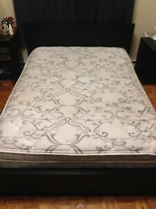 Mattress and wooden frame- Double