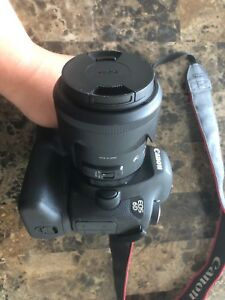 canon eos 6d dslr and sigma 35mm art