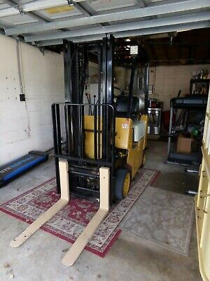 Truck Mount Carpet Cleaning Machine 1997 Hyster Fork Lift 3500 Lb Capacity