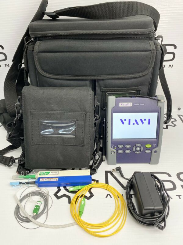 Viavi T-BERD 2000 4126 LA SM Expert OTDR JDSU MTS-2000 LTS/Source/VFL/OPM/CW