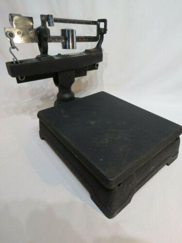 Scale  Antique Fairbanks Morse Cast Iron Platform Counter- Code  532  ~ 75 Lbs