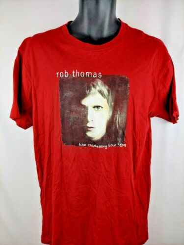 Rob Thomas Tour 2009 T Shirt Next Level Apparel Large