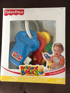 Fisher Price Baby toy keys