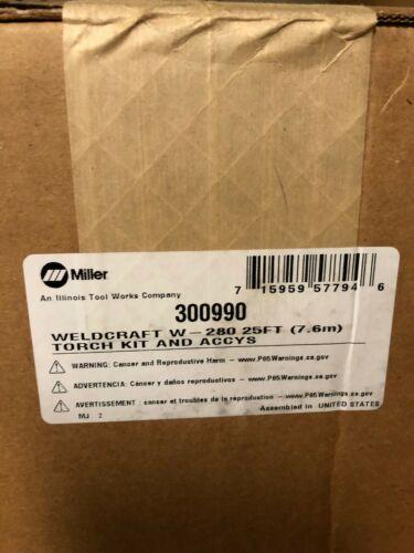 MILLER 300990 W-280 WATER COOLER TORCH KIT 25