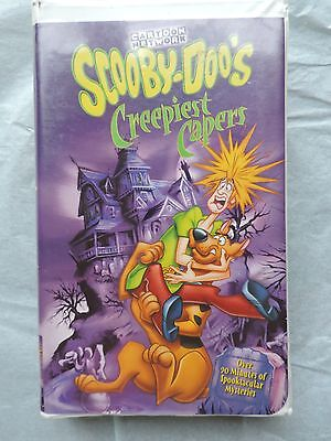 HALLOWEEN MOVIE Scooby-Doo's Creepiest Capers (VHS, 2000, Clam Shell)