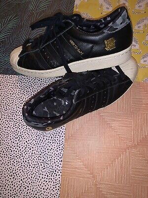 A Bathing Ape X Undefeated X Adidas Superstar 80v Size Men's 7.5 BARELY WORN