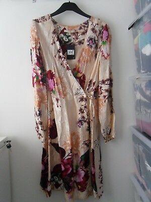 BNWT Next Floral Wrap Dress Size 8