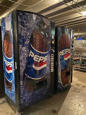 Vendo 511 Bottlescans Pepsi Vending Machine Sale