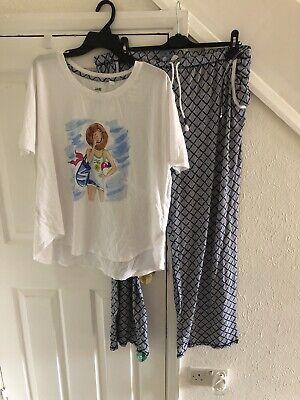 Jane&Bleecker Ladies Summer Pyjamas Size XL