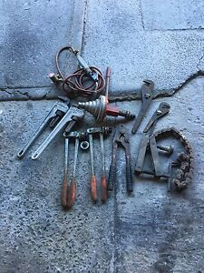 Plumbers Tools - Job lot Broadmeadow Newcastle Area Preview