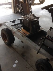 Looking for Old riding mower frame