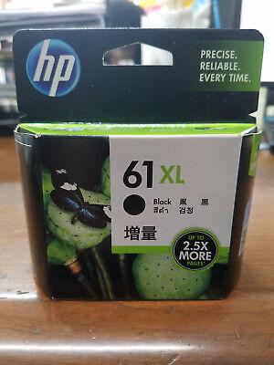 New, Sealed, Genuine OEM HP 61XL black CH563WN original Envy 4500 FREE shipping