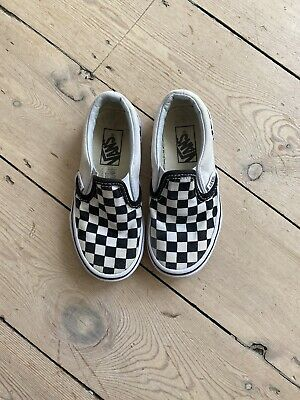 Vans Checkerboard Kids Boys Uk 10