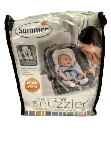 Snuzzler Infant Support Insert By Summer Head and Body Support Birth to 1 Year