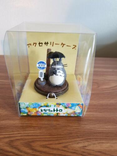 My Neighbor Totoro Jewelry & Accessory Case Diorama Bus Stop Rain Studio Ghibli