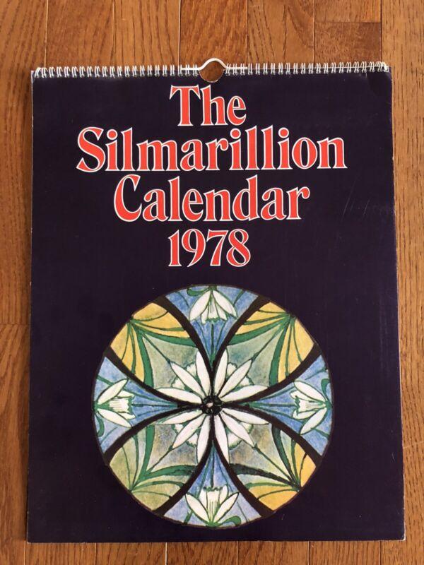 Vintage J. R. R. Tolkien The Silmarillion Calendar 1978