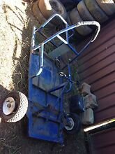 Go kart frame back axel and 5.5 hp motor St Andrews Campbelltown Area Preview