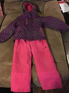 Girls size 10 OshKosh snowsuit