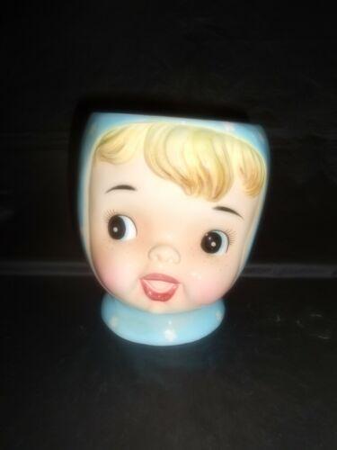 Vintage Napco Miss Cutie Pie Blue Cookie Jar Base #A3505/BL
