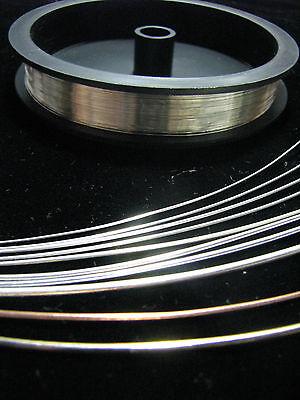 Sterling Silver Round Wire 5 FEET 16 18 20 21 22 24 26 28 30 32 34 Gauge G ECO