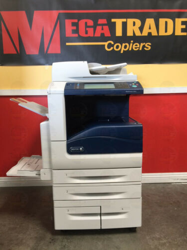 Xerox Workcentre 7835 Color Multifunction Printer Copier Scanner Fax 35 Ppm A3