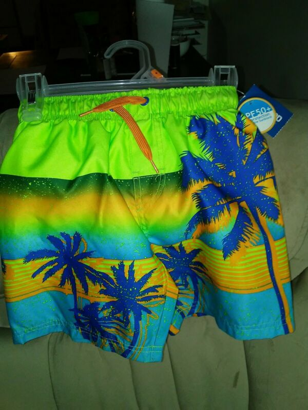 Toddler Boy Swim Shorts Size 4 By Highland Outfitters NWT!