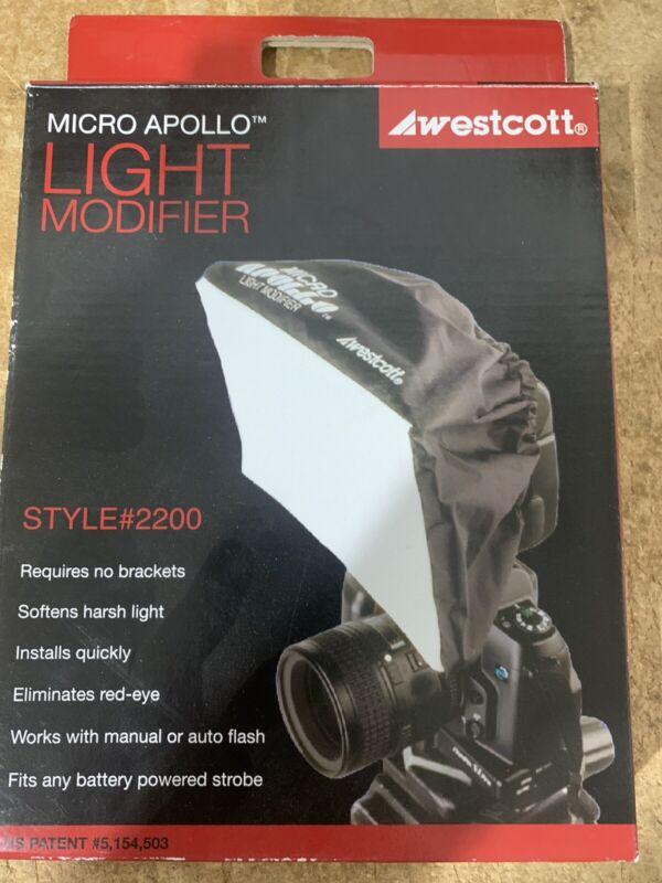 """Westcott Micro Apollo Light Modifier Softbox - 5 x 8"""" Model #2200 With Box"""