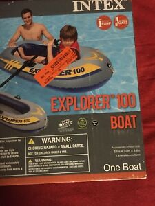 Brand new intex boat
