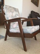 Arm / lounge chair mid century vintage australian made of hardwood Buderim Maroochydore Area Preview