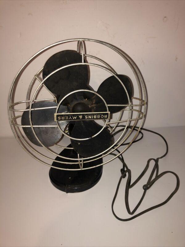 Vintage Robbins Myers Fan