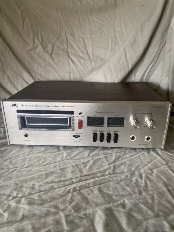 Original Vintage JVC Stereo 8 Track Player Recorder Model ED-1240