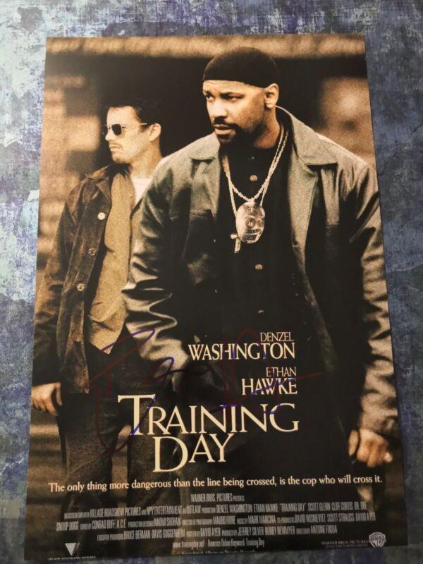 GFA Training Day Movie * ETHAN HAWKE * Signed Autographed 12x18 Photo AD1 COA