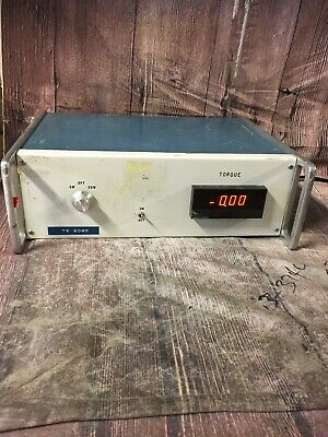 Low Torque Tester Calibrator Vintage Tested To Power Only