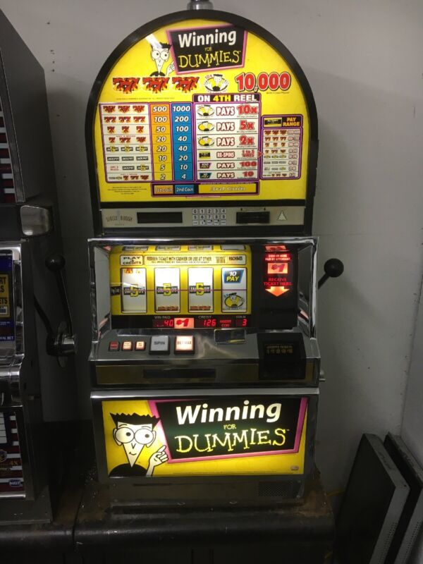 Bally 6000 Winning For Dummies SLOT MACHINE